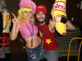 Ganime 2015 Diddy and Dixie Kong by KingOfJin