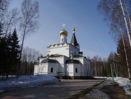 Church of All Russian Saints - Spring '15 by Sicilium