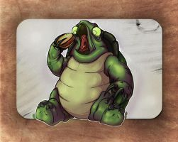 Fat turtle by sergio-garcia