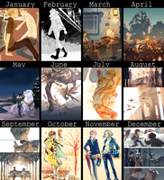 2012 Art summary by hakuku