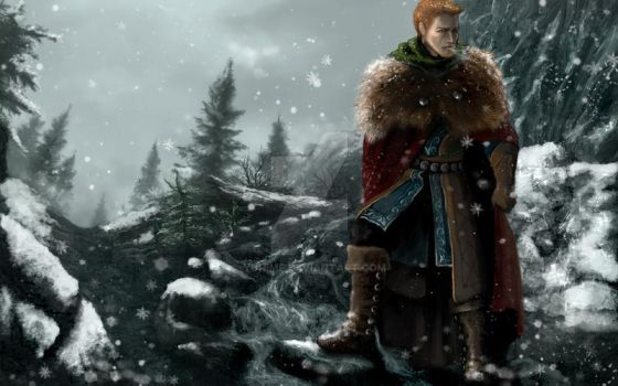 Alistair Theirin by yuhime
