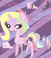 Kyren Ref Sheet by demonreapergirl