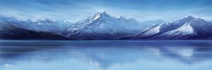 Mount-Cook Blue by BlackMonkey-Chi
