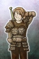DAO: Alistair as a girl by sqbr