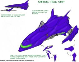 New ship for Samus by crovirus