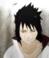 Crying Sasuke by oxotnik