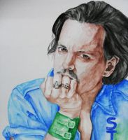 Johnny Depp by naiyaparkash