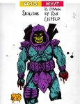 Skeletor... in the style of Rob Liefeld? by YourHumbleDM