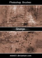 Grunge Brush Set by mimi01