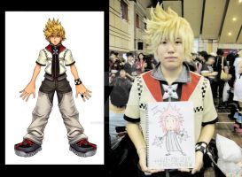 Wig Styling - Roxas by Rociel-Redgraves