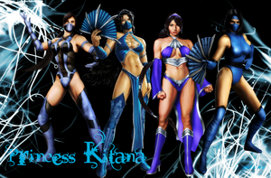 Kitana - Princess of Edenia by IamSubZero