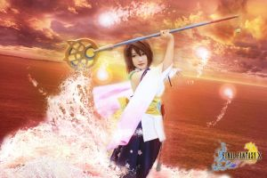 Final Fantasy X - Yuna Sending by nyaomeimei