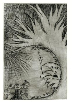 etching by CookieMonster2107