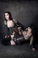 glory y lilia steampunk by lasupercharger