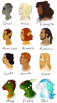 a buncha sexay profiles by KarniMolly