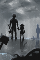 The Walking Dead - Under the Rain by NightHao