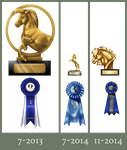 Trophy and Ribbon Imporvement by Cat-Orb