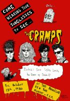The Cramps concert (updated) by FabioVermelho