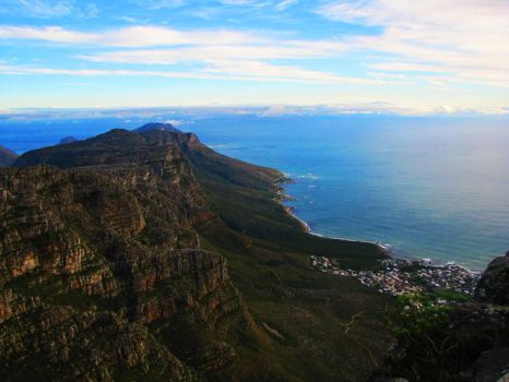 View from Table Mountain 2 by AniaBuckle
