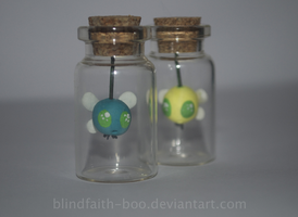Parasprites in a bottle. by Blindfaith-boo