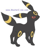 Umbreon by MCR3240ca