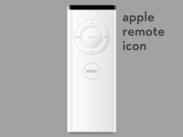 Apple Remote Icon by jmcaulayj