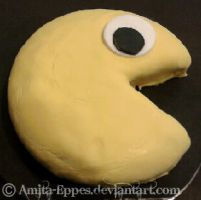 Pacman Cake 2 by Amita-Eppes