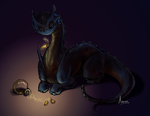 A midnight smackerel... by NovaTheArtist