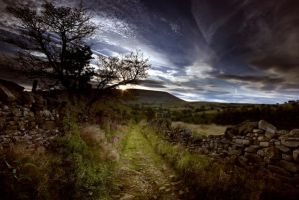 Pendle Hill by felixspencer