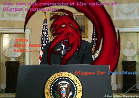 Giygas for President by OhioErieCanalGirl