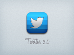Twitter 2.0 icon by luisperu9