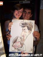 Live Caricature by nelsonsantos