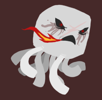 Angry Ghast by Coloursfall