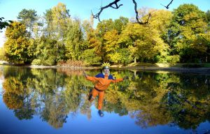 Standing on water- Naruto Cosplay by Stray-Cat-Yoru