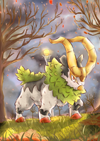 Day 150 - Gogoat (Shiny) by AutobotTesla