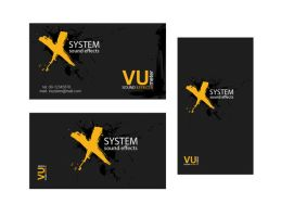 xsystem card by AndexDesign