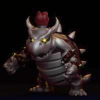 Dry Bowser by SmashingRenders