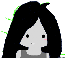 Blinking Marceline (CLICK TO ANIMATE) by IreinicFantasy