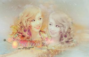 taeyeon twinkle banner by mikohwang