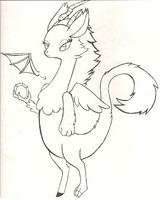 Flower As A Discord Creature Thing by Ponyness1