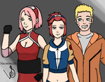 Uzumaki Family by halogirl237