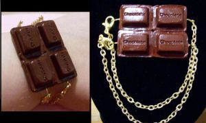 Chocolate bracelet by AnaInTheStars