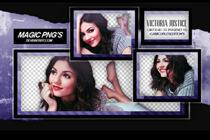 PACK PNG 19| VICTORIA JUSTICE by MAGIC-PNGS