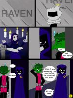 Comedy and Tragedy pg.1 by WhiteRaven4