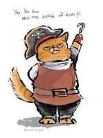 pirate cat by eighthSun