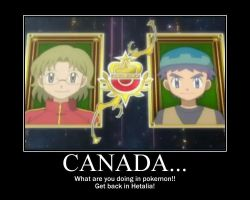 Canada in Pokemon!? O3o by MizAnime32501
