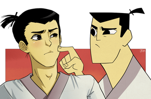 Have some Samurai Jack by ShiroiAngelz