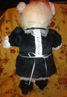 Gothic Lolita Bear Back by TresMaxwell