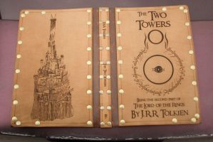 Leather cover for the Two Towers by Photoguy42