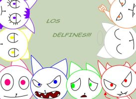 Los Delfines by HTF-Characters